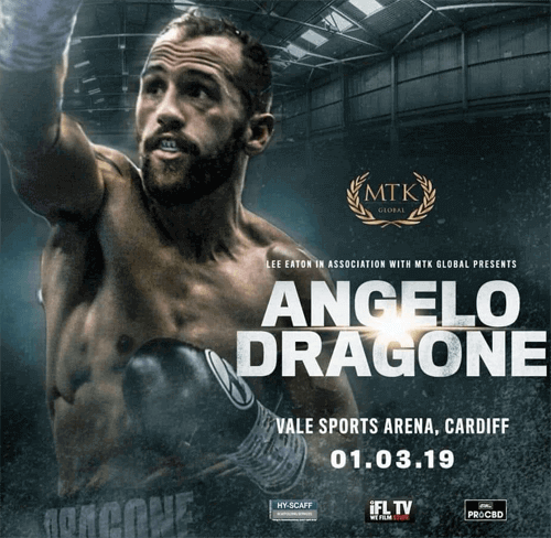 Welsh boxer Angelo Dragone